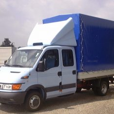 3D-Spoiler-Iveco Daily Dachspolier Doppelkabine