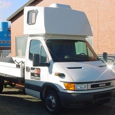 Dachschlafkabine Topsleeper Iveco Daily