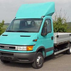 Iveco daily Dachspolier-3D-Spoiler