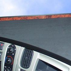 Ablagetisch LKW-Tisch Renault Premium LKW Ablage wurzelholz