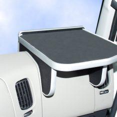 Ablagetisch LKW-Tisch rechts Renault Premium LKW-Ablage Beifahrer schwarz