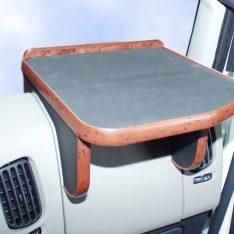 Ablagetisch LKW-Tisch rechts Renault Premium LKW-Ablage Beifahrer wurzelholz