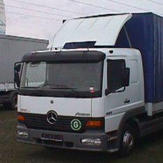 Blattspoiler Spoiler Dachspolier Mercedes-Benz Atego Axor