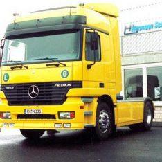 Dachspoiler Aeropaket Mercedes-Benz Actros