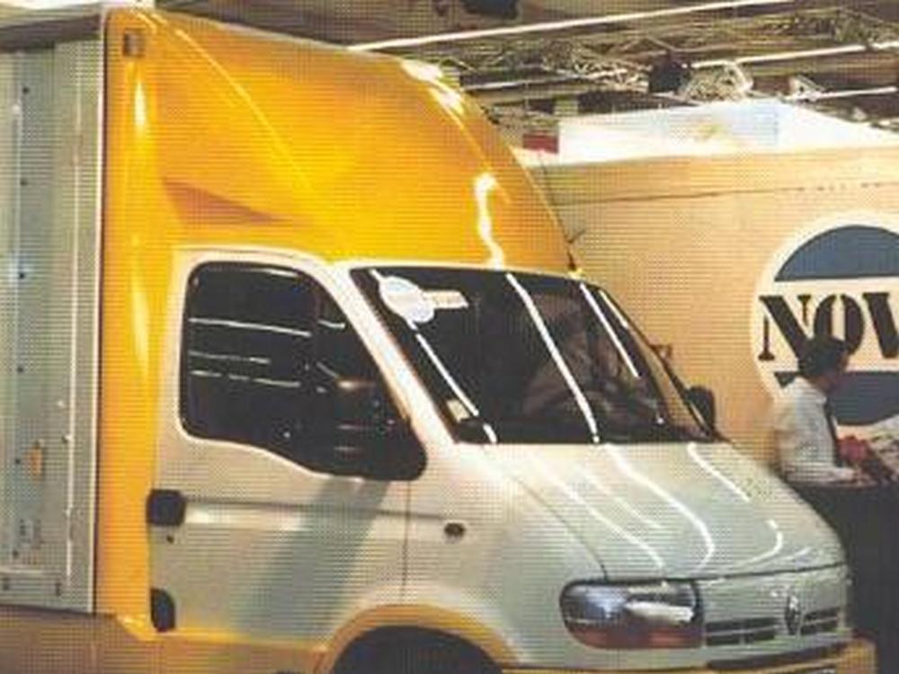 Opel Movano Dachspoiler 3D-Spoiler