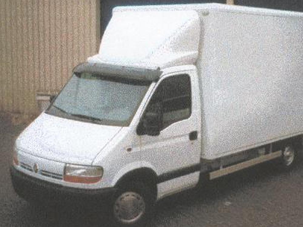 Opel Movano Sonnenblende