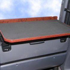 Scania R 2010 Ablagetisch LKW-Tisch rechts LKW-Ablage Beifahrer wurzelholz
