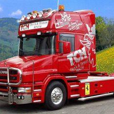 Scania 4 Hauber