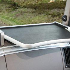 LKW Ablagetisch Beifahrerablage LKW-Tisch DAF XF EURO 6 schwarz