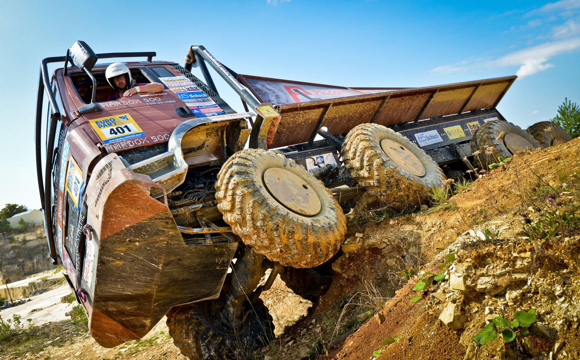 HS-Schoch-Hardox-Truck-Trial-Team in Langenaltheim