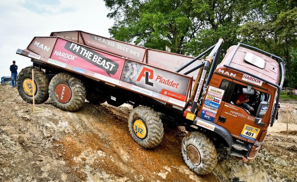 HS-Schoch Hardox Truck-Trial Team in Manche Île-De-France
