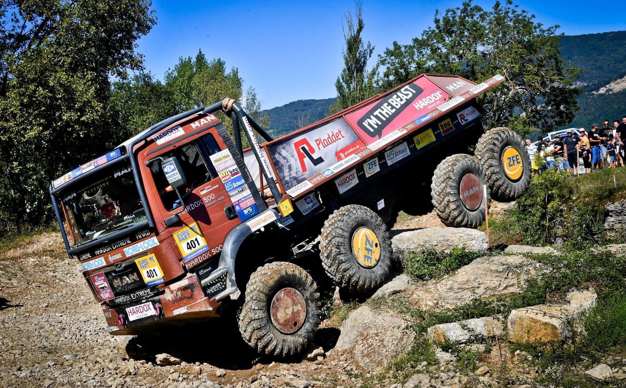 HS-Schoch-Hardox-Truck-Trial-Team_4 _Lauf in Montalieu-Vercieu