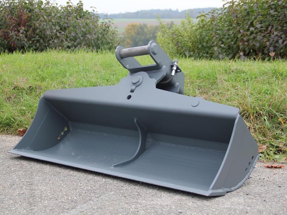Grabenräumschaufel-schwenkbar-Minibagger
